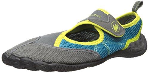 Body Glove Women's Horizon-W Athletic Water Shoe, Blue/Green, 7 M US