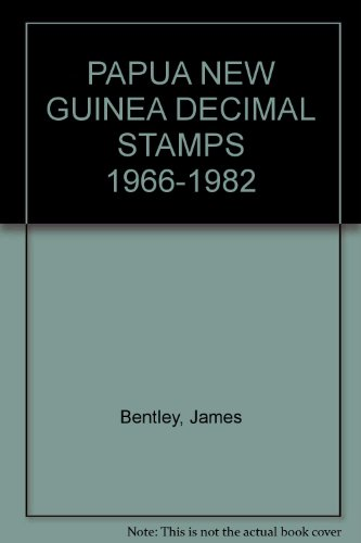 PAPUA NEW GUINEA DECIMAL STAMPS 1966-1982