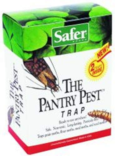 - Safer Brand 05140 The Pantry Pest Trap, 2 Moth Traps