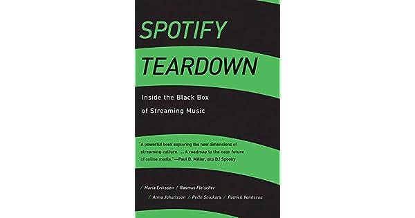 Amazon.com: Spotify Teardown: Inside the Black Box of ...