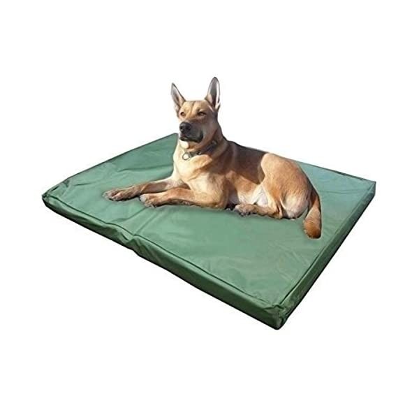ADOV Dog Beds, Double-sided Waterproof Pet Bed, Durable Oxford Washable Cover Orthopaedic Memory Foam Mat, Cushion Mattress for Dogs, Cats, Other Small and Big Pets - Large - Medium 1