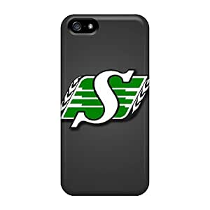 Tpu Fashionable Design Saskatchewan Roughriders Rugged Case Cover For Iphone 5/5s New wangjiang maoyi