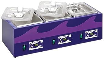 Edvotek 544 Three-Chambered PCR Waterbath, 1.2L Capacity, Ambient to 99 Degree C