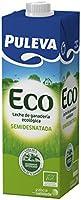 Puleva Leche Ecológica  Semidesnatada - Pack 6 x 1 L