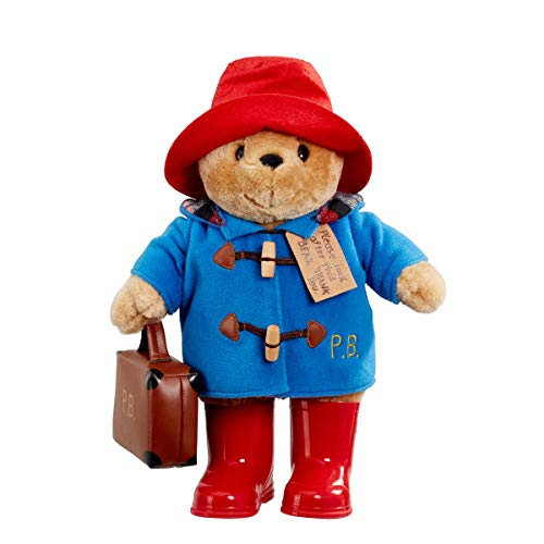Paddington Bear Large Classic With Boots And Suitcase (Classic Paddington Bear With Boots And Suitcase)