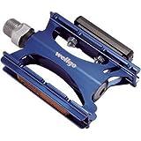 WELLGO(ウェルゴ) アルミペダル CNC シールドベアリング ブルー 280g ロード/ATB/MTB LU-C16
