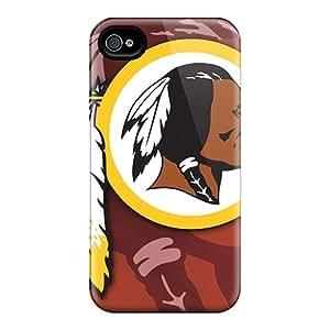 Iphone 6plus WqK19735LcqQ Custom High Resolution Washington Redskins Skin Shock Absorption Hard Phone Cases -LauraAdamicska