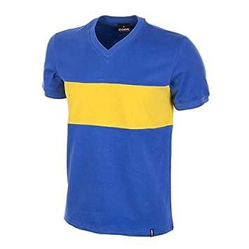 COPA Football - Camiseta Retro Boca Juniors años 1960: Amazon.es: Deportes y aire libre