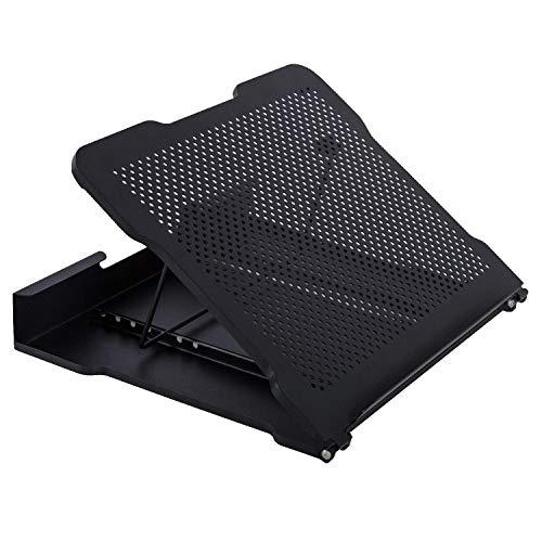 DESIGNA Adjustable Laptop Cooling Stand Portable Laptop Stand Riser for Standing Desk, Notebook, IP