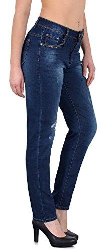 J312 J254 Femme en Femme Taille Look by Grande Destroyed Jean Skinny 48 tex Jean 50 Pantalon Jeans dechir qwUwETavYx