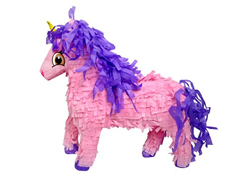 (Large Pink Unicorn Pinata, 21