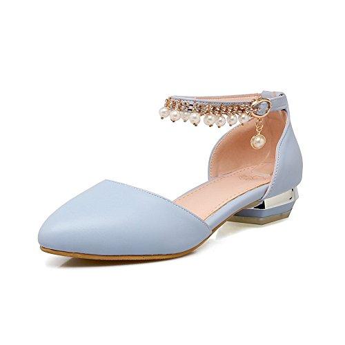 Femme Bleu Compensées Bleu 36 Sandales ASL05106 5 EU BalaMasa 1Xng6xtqw