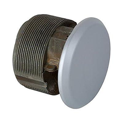 Mortise Dummy Cylinder in Aluminum finish, Durable commercial & residential, door hardware, door handles, locks, cylinder guard