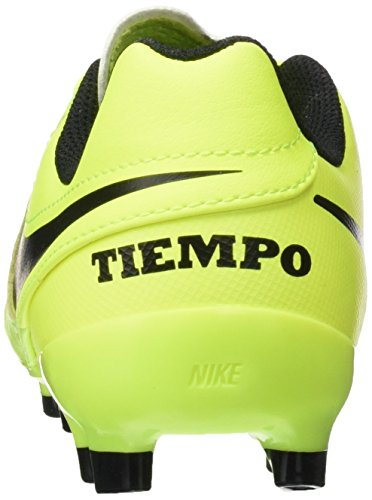 Pictures of NIKE Youth Tiempo Legend VI FG Cleats [Volt] (5Y) 5 M US Big Kid 7