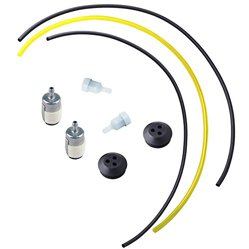 HIPA Repower Kit (Pack of 2) 13211546730 Grommet with Fuel Lines Filter for ECHO GT SRM Grass Trimmer Weed Eater