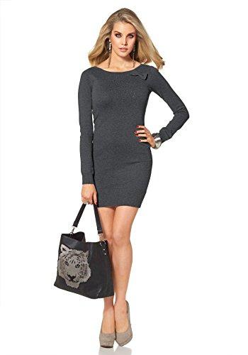 Melrose - Vestido - Opaco - para mujer gris