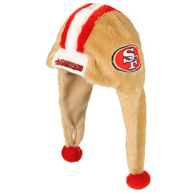 539fa9458 San Francisco 49ers Helmet Dangle Hat – Football Theme Hats