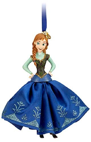 Disneys Frozen Anna Sketchbook Ornament