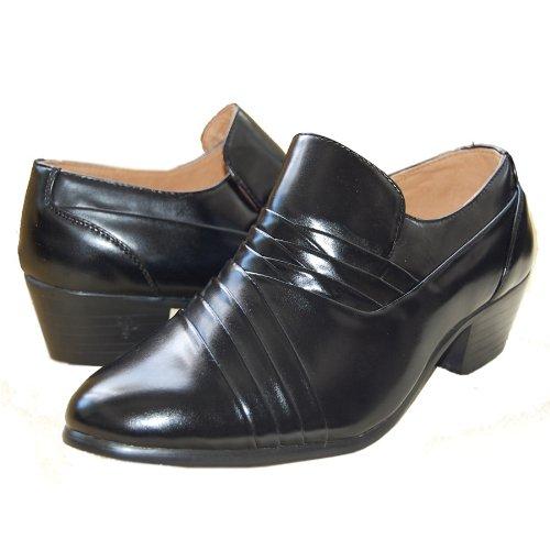 Gorgeous Inch Cuban Shoes Black