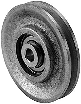 Amazon.com: 3 Inch Cast Iron Pulley and Precision Bearing (300 lb Load): Home Improvement