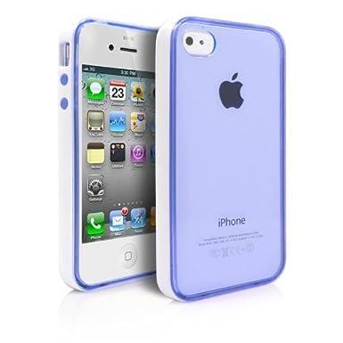 4S funda, iPhone 4S funda, luolnh [con marco protector] de ...