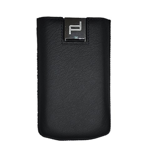 PORSCHE DESIGN GENUINE BLACK LEATHER POCKET CASE FOR P9983 BLACKBERRY PORSCHE DESIGN P'9983