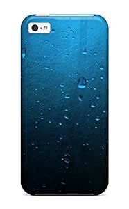 Top Quality Protection Water Drops On Glass Case Cover For Iphone 5c