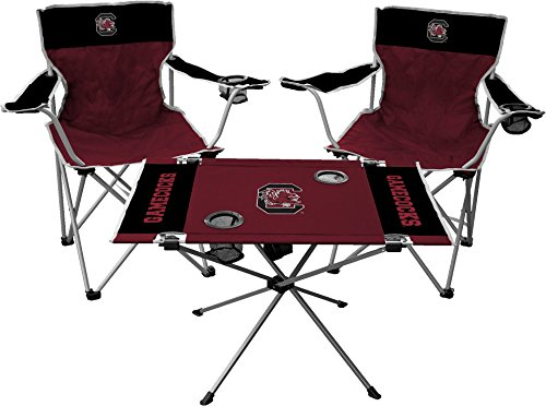 NCAA South Carolina Fighting Gamecocks Tailgate Kit, Team Color, One Size