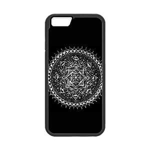 White Mandala01.jpgiPhone 6 4.7 Inch Cell Phone Case Black 05Go-384269