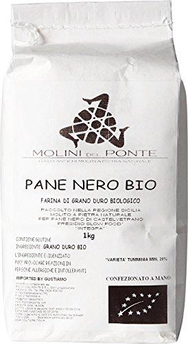 Whole Grain Pane Nero Flour - Molini del Ponte, Castelvetrano, Sicily