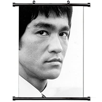 782c13171a Amazon.com  Home Decor Designer Poster with Bruce Lee Celebrity ...