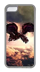 iPhone 5c case, Cute Firedragon iPhone 5c Cover, iPhone 5c Cases, Soft Clear iPhone 5c Covers