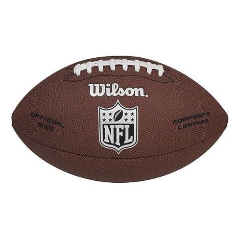 Wilson NFL Super Grip Oficial (diseño de balón de fútbol: Amazon ...