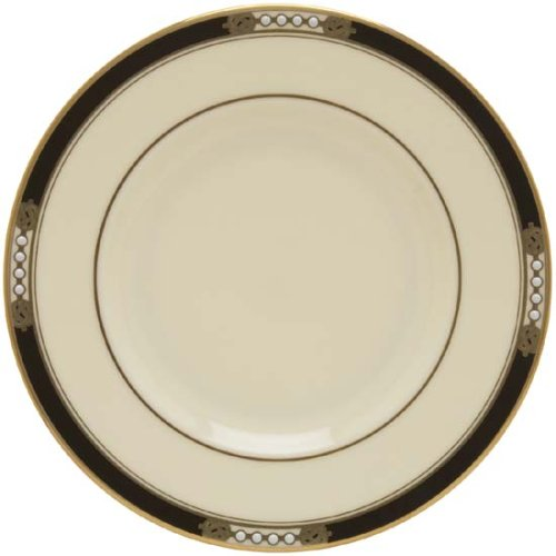 Lenox Hancock Gold Banded Ivory China Butter Plate (China Bread Plate)
