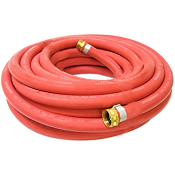 Continental 5 8 Inch X 100 Feet All Weather Rubber Water Garden Hose Made In Usa