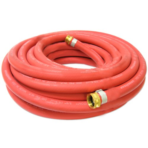 Wholesale Continental 5/8-inch x 50-feet All-Weather Rubber Water Garden Hose, Made in USA for cheap