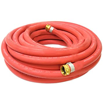 Continental 5/8 Inch X 50 Feet All Weather Rubber Water Garden