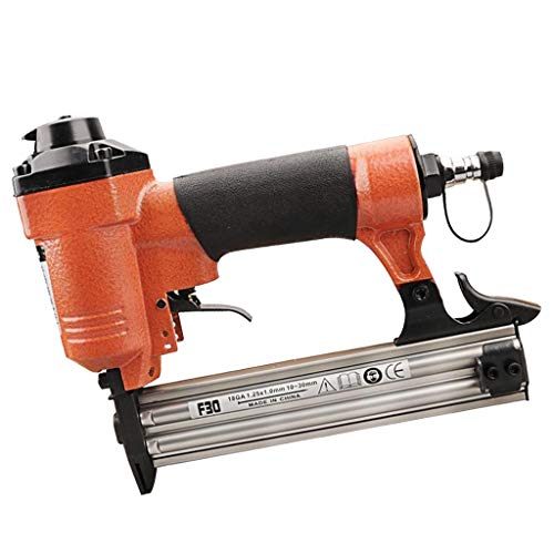 Flameer 10-30mm Heavy Duty Air Nailer, Powerful Pneumatic Roofing Coil Nailers Gun