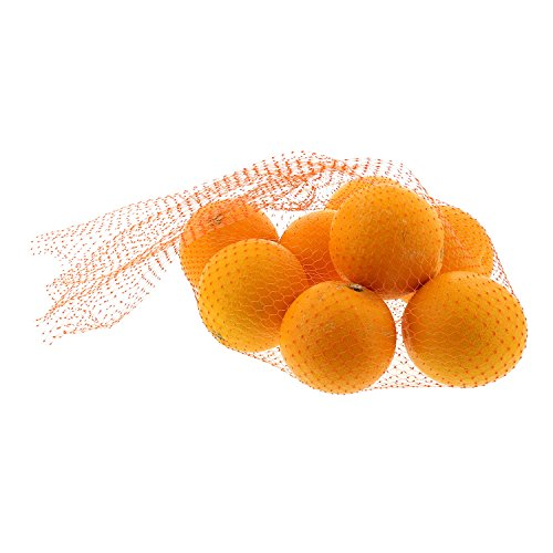 Plastic Mesh Pot - Royal Orange Plastic Mesh Produce and Seafood, 24
