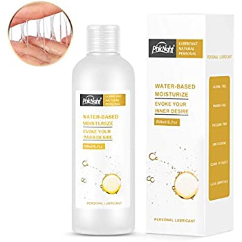 Natural Water-Based Personal Lubricant,Long Lasting Sex Lube for Women, Men & Couples(paraben-Free,Sensitive Skin Friendly),8.45oz