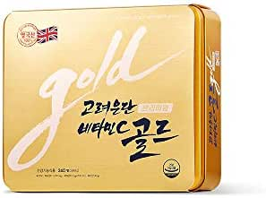 Korea Eundan Vitamin C Gold Premium 240T / Vitamin C+Vitamin D+Biotin UK Vitamin