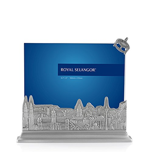 (Royal Selangor Hand Finished Malaysia Collection Pewter Photo Frame)