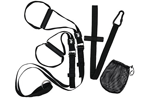 Sling Trainer von HOLD STRONG Fitness (Schlingentrainer für Functional Training, Bodyweight-Exercises, Eigengewichtsübungen)