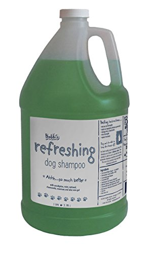 Bobbi Panter Natural Refreshing Dog Shampoo, Mint Green, 1 gal