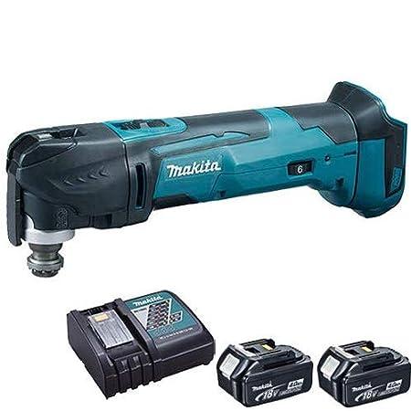BL1830 BL1840 3.0Ah Battery+Charger For Makita DTM51Z 18v Li-Ion Multi-Tool