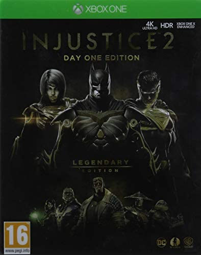 Injustice 2 Legendary Day One Edition Xbox One Game (Inc Steelbook ...