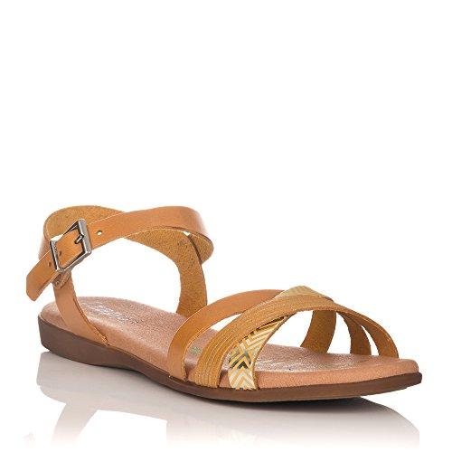 Sandales De Mode Féminine Zapp Beige