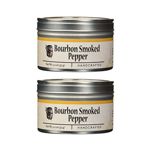 (Bourbon Smoked Pepper (2 Oz) (Pack of 2) )