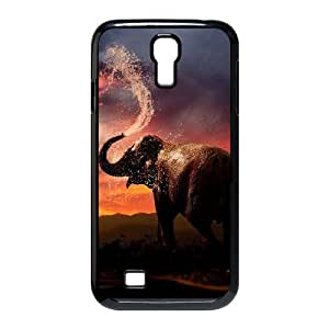 Bathing Elephant DIY Cover Case with Hard Shell Protection for SamSung Galaxy S4 I9500 Case lxa#844373