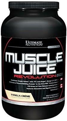 Universal Nutrition Muscle Juice Revolution Vanillan Creme, 1er Pack (1 x 2.12 kg)